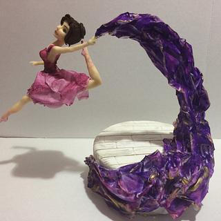 Dancer fly - Cake by MELANIASCAKEATELIER