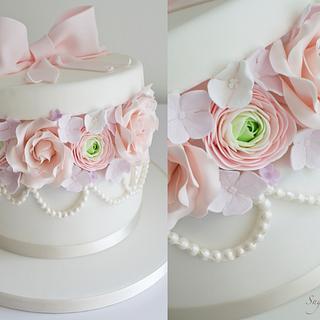 'Box of Flowers' Birthday Cake