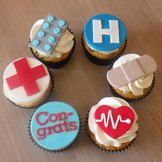 Paramedic cupcakes