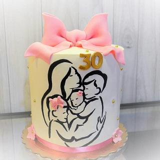 Family Cake - Cake by Maria Ferreira