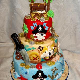 Pirate cake  - Cake by Svetlana Hristova
