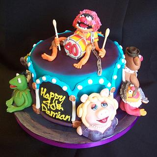 Muppet Madness 40th cake