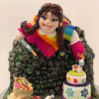 Cholita dulce traviesa