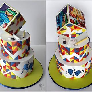 Graduation Cake - Cake by Antonia Lazarova