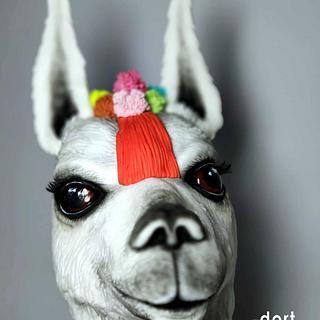 Mexican llama - Cake by dortUM