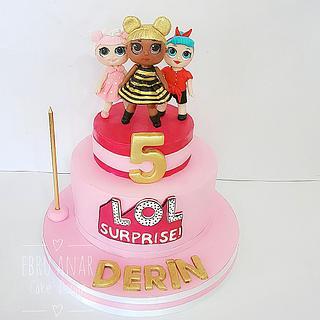 Lol surprise cake - Cake by Ebru Anar
