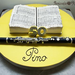 Clarinet Cake - Cake by  Viviana Pellegrino
