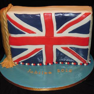 Queen's Diamond Jubilee Cakes - Cake by Helen Hermanstein Smith