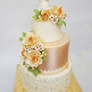 Cake First Communion  - Cake by Sabrina Di Clemente