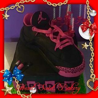 Jordan shoe - Cake by Heart