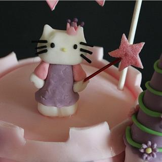 Hello Kitty Castle Cake! - Cake by Sue