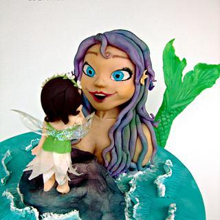Curiosity: Mermaid meets Fairy