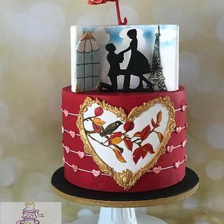 Caker Buddies Valentine Collaboration -VINTAGE LOVE