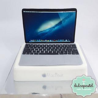 MacBook Cake - Cake by Dulcepastel.com