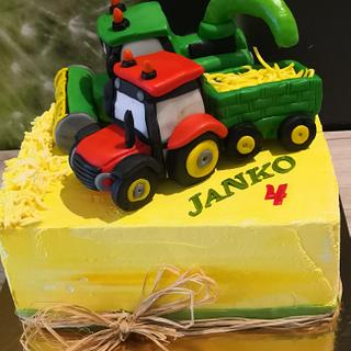 Tractor & harvester