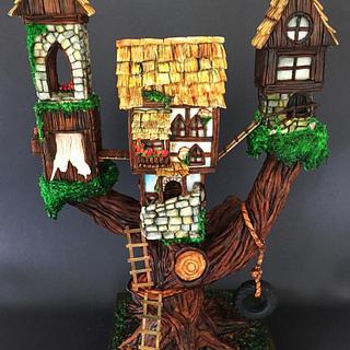 Tree house cake  - Cake by  Vale Logroño
