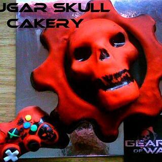 Gears of War (video game) cake