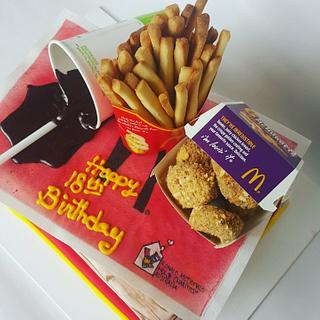 McDonald nuggets meal