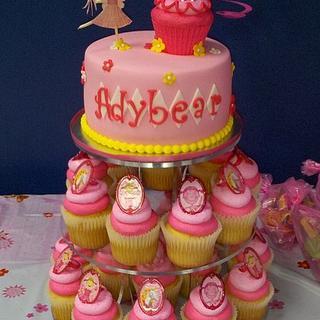 Pinkalicious Cupcake Tower