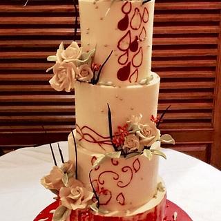 Aura of Grandeur  - Cake by Deepa Pathmanathan