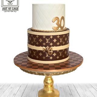 Just another LV cake... - Cake by Akademia Tortu - Magda Kubiś