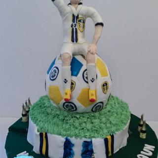 Leeds United Fan at 50 - Cake by realdealuk