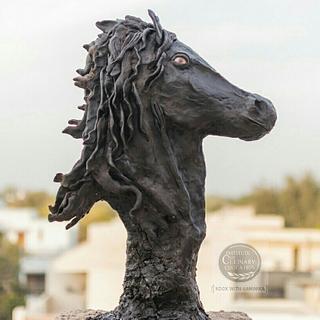 Horse Sculpture cake