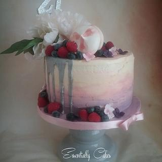 Berries and buttercream