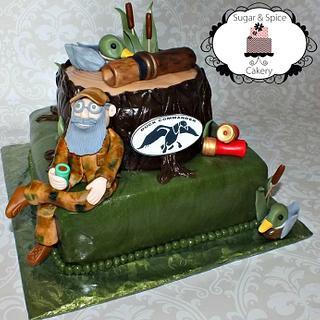 Duck Dynasty Cake - Cake by Mandy