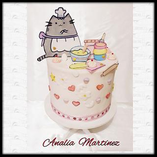 Pusheen Let's Bake