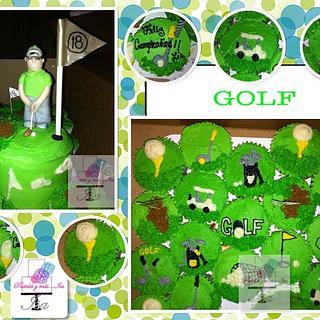 GOLF - Cake by Pastelesymás Isa