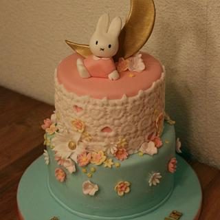 Sweet Miffy/Nijntje cake - Cake by Taartmama