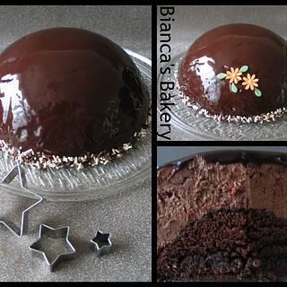 Choco glaze  - Cake by Bianca's Bakery