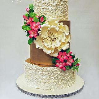 Royal Garden Wedding Cake