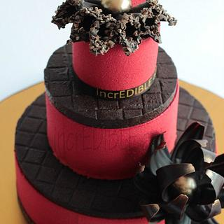 Entremet-3 tiered cake