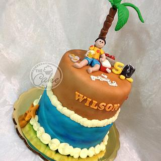 Beach cake - Cake by TheCake by Mildred