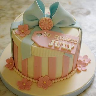 Gift Cake to July!