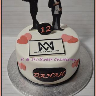 Marcus & Martinus birthday cake - Cake by Konstantina - K & D's Sweet Creations