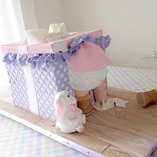 Baby Shower - Cake by Cake Heart