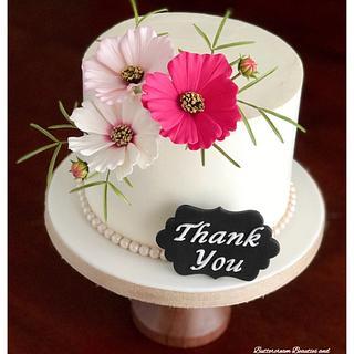 ~ Charming Cosmos ~ - Cake by Tammy LaPenta
