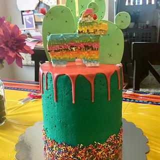 Fiesta Cake  - Cake by Julie