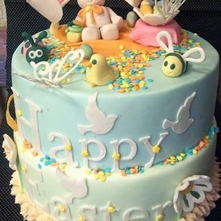 Easter cake  - Cake by angela