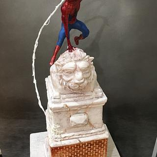 Spider-Man Cake - Cake by  Sue Deeble
