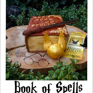Book Of Spells  - Cake by Jacqueline
