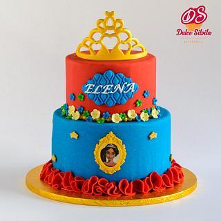 Elena de Avalor cake - Cake by Dulce Silvita