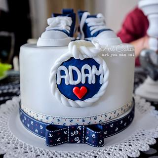 Adam's Christening Cake