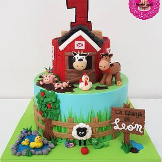Sweet Farm cake - Cake by MileBian