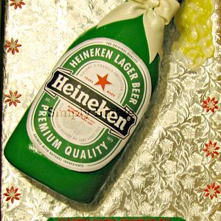 Heineken Cake - Cake by Shelly-Anne