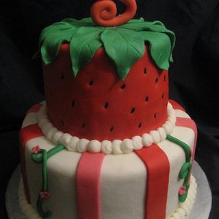 Strawberry Shortcake 2 - Cake by Stephanie Shaw