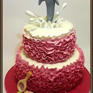 Dolphin - Cake by Ana Cristina Santos